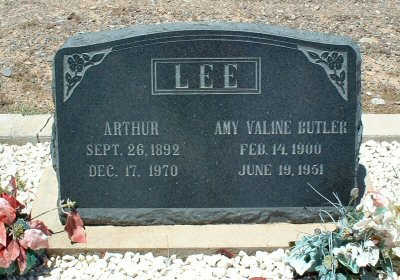 LEE, ARTHUR - Graham County, Arizona | ARTHUR LEE - Arizona Gravestone Photos