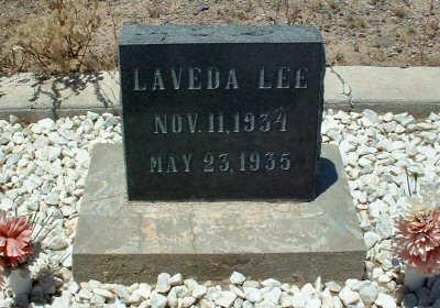 LEE, LAVEDA - Graham County, Arizona | LAVEDA LEE - Arizona Gravestone Photos