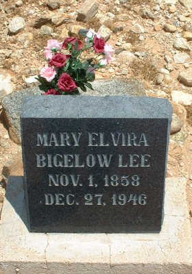 BIGELOW LEE, MARY ELVIRA - Graham County, Arizona | MARY ELVIRA BIGELOW LEE - Arizona Gravestone Photos
