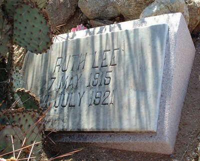 LEE, RUTH - Graham County, Arizona | RUTH LEE - Arizona Gravestone Photos
