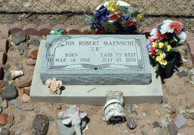 MAENNCHE, JON ROBERT - Graham County, Arizona | JON ROBERT MAENNCHE - Arizona Gravestone Photos