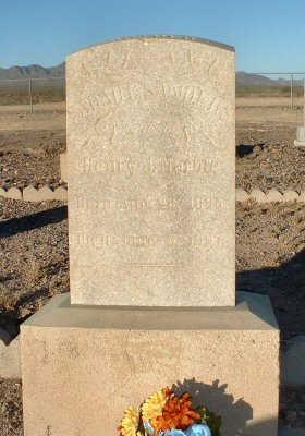 SANDERS MARBLE, SARAH E. - Graham County, Arizona | SARAH E. SANDERS MARBLE - Arizona Gravestone Photos