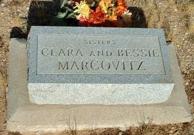 MARCOVITZ, BESSIE - Graham County, Arizona | BESSIE MARCOVITZ - Arizona Gravestone Photos
