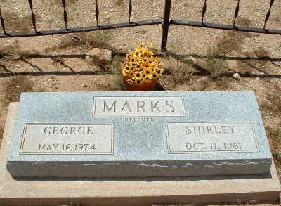 MARKS, SHIRLEY - Graham County, Arizona   SHIRLEY MARKS - Arizona Gravestone Photos