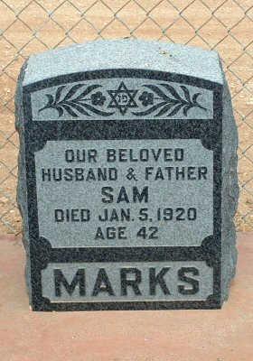 MARKS, SAM - Graham County, Arizona | SAM MARKS - Arizona Gravestone Photos
