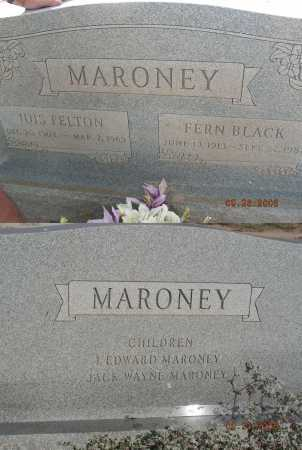 MARONEY, FERN - Graham County, Arizona | FERN MARONEY - Arizona Gravestone Photos
