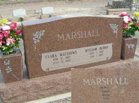 MARSHALL, CLARA - Graham County, Arizona | CLARA MARSHALL - Arizona Gravestone Photos