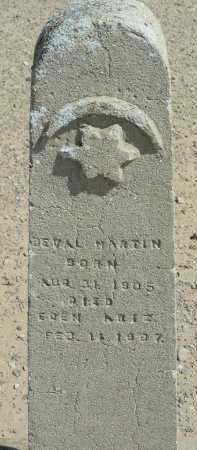 MARTIN, DEVAL - Graham County, Arizona   DEVAL MARTIN - Arizona Gravestone Photos