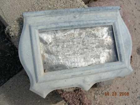 MARVIN, ? HYRUM - Graham County, Arizona | ? HYRUM MARVIN - Arizona Gravestone Photos