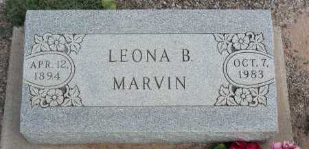 MARVIN, LEONA B - Graham County, Arizona | LEONA B MARVIN - Arizona Gravestone Photos