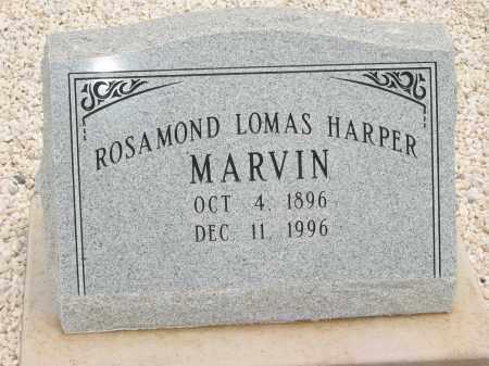MARVIN, ROSAMOND MAY LOMAS - Graham County, Arizona | ROSAMOND MAY LOMAS MARVIN - Arizona Gravestone Photos