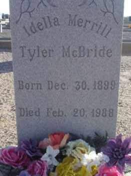 MCBRIDE, IDELLA - Graham County, Arizona | IDELLA MCBRIDE - Arizona Gravestone Photos