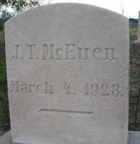 MCEUEN, J T - Graham County, Arizona   J T MCEUEN - Arizona Gravestone Photos