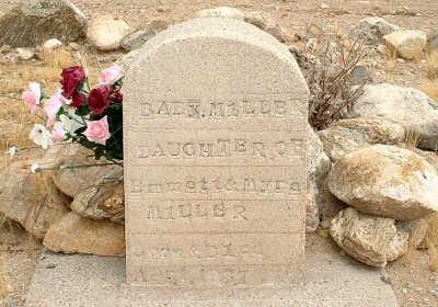 MILLER, BABY DAUGHTER - Graham County, Arizona | BABY DAUGHTER MILLER - Arizona Gravestone Photos