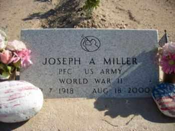 MILLER, JOSEPH A. - Graham County, Arizona | JOSEPH A. MILLER - Arizona Gravestone Photos