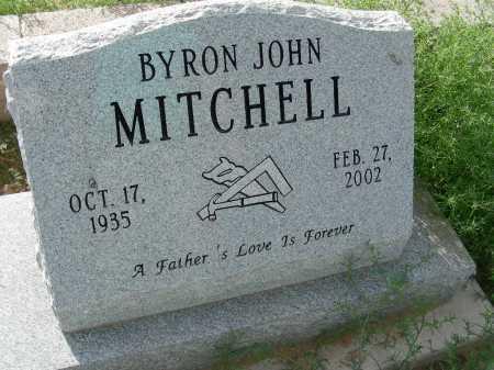 MITCHELL, BYRON JOHN - Graham County, Arizona | BYRON JOHN MITCHELL - Arizona Gravestone Photos