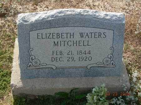 MITCHELL, ELIZEBETH WATERS - Graham County, Arizona | ELIZEBETH WATERS MITCHELL - Arizona Gravestone Photos