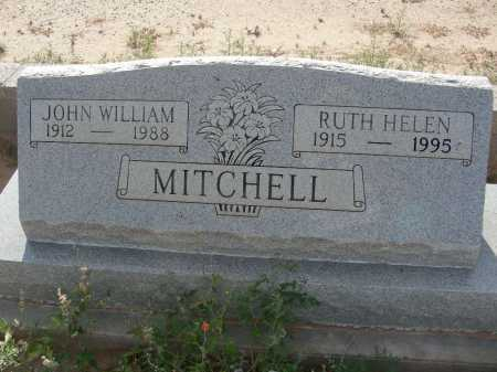 MITCHELL, JOHN WILLIAM - Graham County, Arizona | JOHN WILLIAM MITCHELL - Arizona Gravestone Photos
