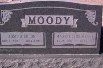 MOODY, JOSEPH RULON - Graham County, Arizona | JOSEPH RULON MOODY - Arizona Gravestone Photos