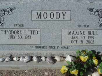 MOODY, THEODORE LAVERE - Graham County, Arizona | THEODORE LAVERE MOODY - Arizona Gravestone Photos