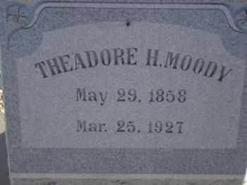 MOODY, THEADORE HENSON - Graham County, Arizona | THEADORE HENSON MOODY - Arizona Gravestone Photos