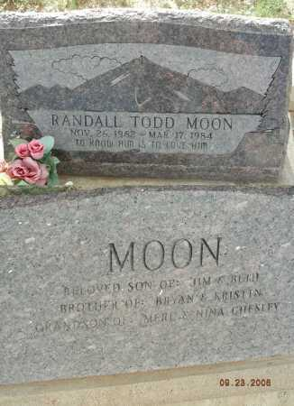 MOON, RANDALL TODD - Graham County, Arizona | RANDALL TODD MOON - Arizona Gravestone Photos