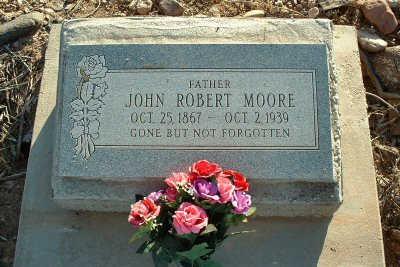 MOORE, JOHN ROBERT - Graham County, Arizona   JOHN ROBERT MOORE - Arizona Gravestone Photos