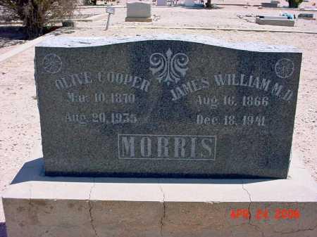 COOPER MORRIS, OLIVE - Graham County, Arizona   OLIVE COOPER MORRIS - Arizona Gravestone Photos