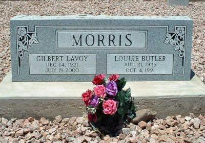MORRIS, GILBERT LAVOY - Graham County, Arizona | GILBERT LAVOY MORRIS - Arizona Gravestone Photos