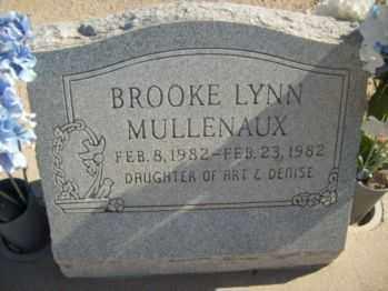 MULLENAUX, BROOKE - Graham County, Arizona   BROOKE MULLENAUX - Arizona Gravestone Photos