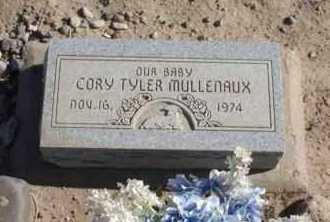 MULLENAUX, CORY TYLER - Graham County, Arizona | CORY TYLER MULLENAUX - Arizona Gravestone Photos