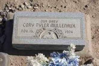 MULLENAUX, CORY TYLER - Graham County, Arizona | CORY TYLER MULLENAUX - Arizona Gravestone Photos