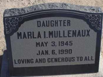 MULLENAUX, MARLA IRENE - Graham County, Arizona | MARLA IRENE MULLENAUX - Arizona Gravestone Photos