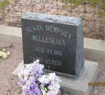 DEMPSEY MULLENEAUX, SUSAN GEORGIANNA - Graham County, Arizona | SUSAN GEORGIANNA DEMPSEY MULLENEAUX - Arizona Gravestone Photos