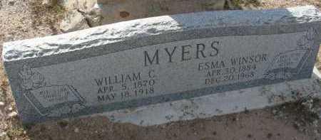 MYERS, ESMA - Graham County, Arizona   ESMA MYERS - Arizona Gravestone Photos