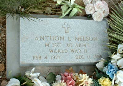 NELSON, ANTHON L. - Graham County, Arizona | ANTHON L. NELSON - Arizona Gravestone Photos