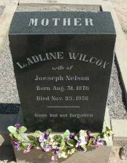 WILCOX NELSON, L ADLINE - Graham County, Arizona | L ADLINE WILCOX NELSON - Arizona Gravestone Photos