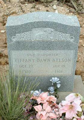 NELSON, TIFFANY DAWN - Graham County, Arizona | TIFFANY DAWN NELSON - Arizona Gravestone Photos