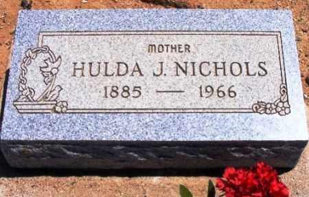 ISON NICHOLS, HULDA J. - Graham County, Arizona | HULDA J. ISON NICHOLS - Arizona Gravestone Photos