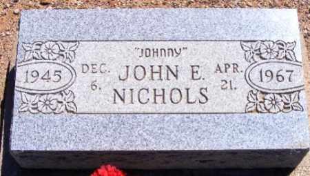 NICHOLS, JOHN ELTON (JOHNNY) - Graham County, Arizona | JOHN ELTON (JOHNNY) NICHOLS - Arizona Gravestone Photos