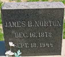 NORTON, JAMES BERTRAND - Graham County, Arizona | JAMES BERTRAND NORTON - Arizona Gravestone Photos