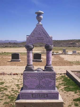 NORTON, H.  F. - Graham County, Arizona | H.  F. NORTON - Arizona Gravestone Photos
