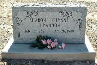 O'BANNON, SHARON K'LYNNE - Graham County, Arizona | SHARON K'LYNNE O'BANNON - Arizona Gravestone Photos