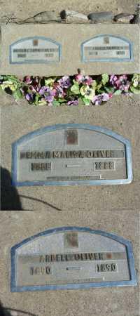 OLIVER, EMMA MALISA - Graham County, Arizona | EMMA MALISA OLIVER - Arizona Gravestone Photos