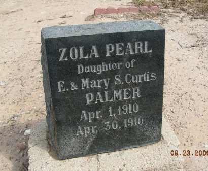 PALMER, ZOLA PEARL - Graham County, Arizona | ZOLA PEARL PALMER - Arizona Gravestone Photos