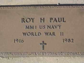 PAUL, ROY HARRY - Graham County, Arizona | ROY HARRY PAUL - Arizona Gravestone Photos