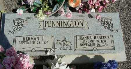 PENNINGTON, HERMAN E - Graham County, Arizona | HERMAN E PENNINGTON - Arizona Gravestone Photos