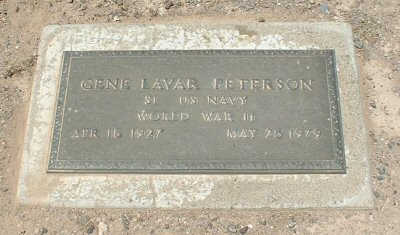 PETERSON, GENE LAVAR - Graham County, Arizona | GENE LAVAR PETERSON - Arizona Gravestone Photos