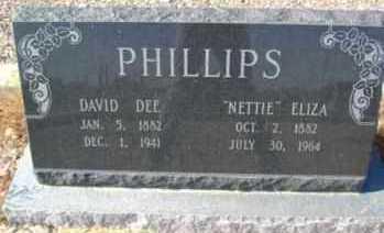 PHILLIPS, DAVID DEE - Graham County, Arizona | DAVID DEE PHILLIPS - Arizona Gravestone Photos