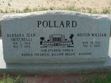 POLLARD, BARBARA JEAN - Graham County, Arizona | BARBARA JEAN POLLARD - Arizona Gravestone Photos